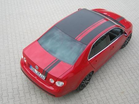 Auto mit Folie